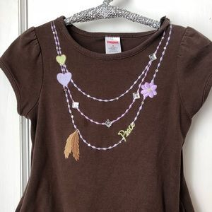 """GYMBOREE Dress Size 5 """"Cowgirls At Heart"""" Brown"""